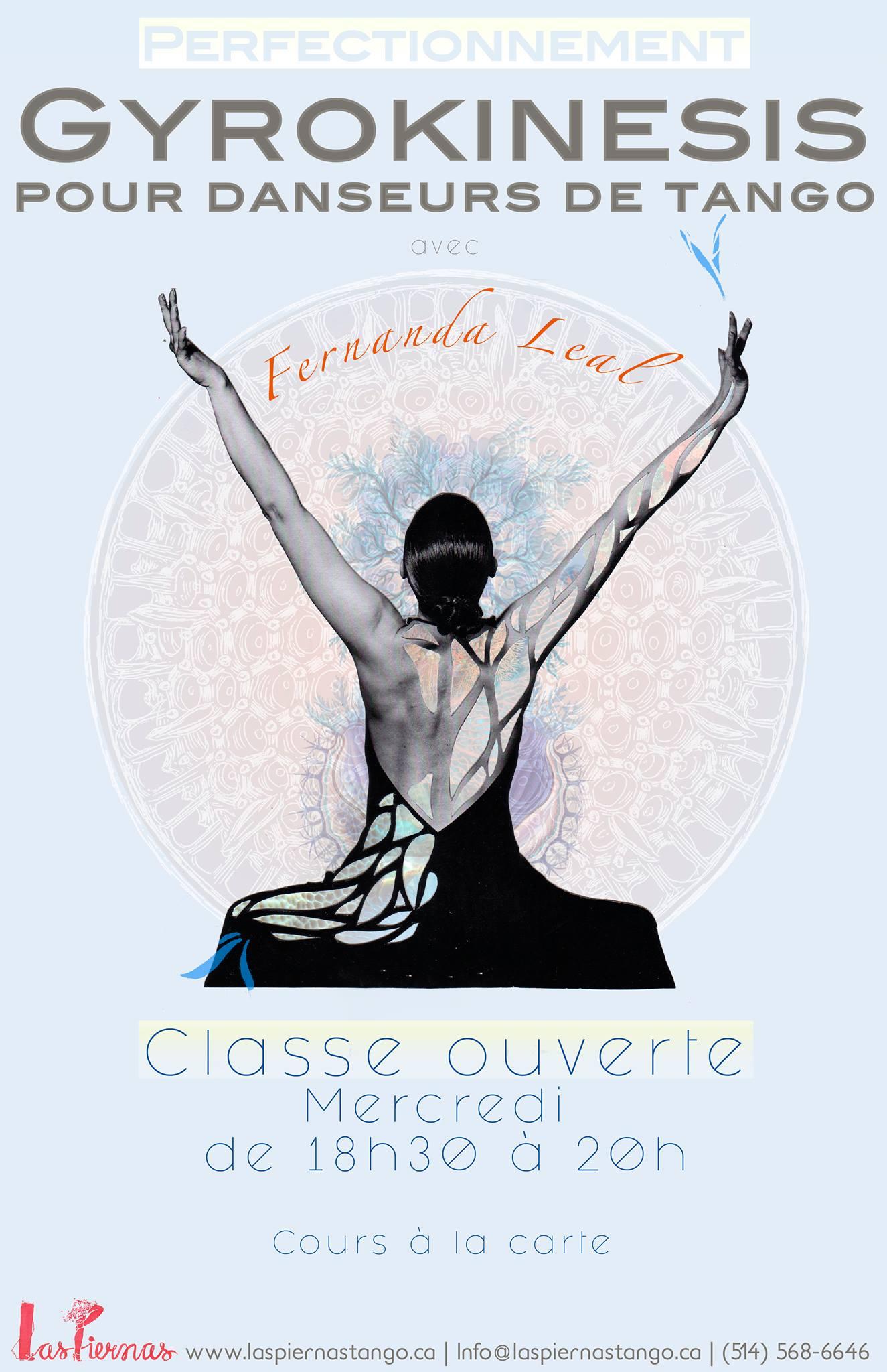 Gyrokinésis pour danseurs de tango – avec Fernanda Leal